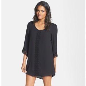 ASTR the Label Lace Trim Shift Dress
